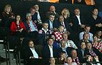12.01.2018., Croatia, Spaladium Arena, Split - European Handball Championship, Group B, 1st Round, Croatia - Serbia. . Dragan Covic, Andrej Plenkovic and  Milan Bandic <br /> <br /> Foto &copy; nordphoto / Slavko Midzor/PIXSELL