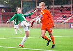 ***BETALBILD***  <br /> Solna 2015-07-25 Fotboll Superettan Athletic FC United - J&ouml;nk&ouml;pings S&ouml;dra IF :  <br /> J&ouml;nk&ouml;ping S&ouml;dras Tommy Thelin i kamp om bollen med Athletics Andr&eacute; &Ouml;sterholm under matchen mellan Athletic FC United och J&ouml;nk&ouml;pings S&ouml;dra IF <br /> (Foto: Kenta J&ouml;nsson) Nyckelord:  Superettan Skytteholm Skytteholms IP AFC Athletic FC United J&ouml;nk&ouml;ping J-S&ouml;dra