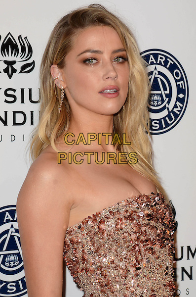 LOS ANGELES, CA - JANUARY 7: Amber Heard at the The Art Of Elysium Tenth Annual Celebration 'Heaven' Charity Gala at Red Studios in Los Angeles, California on January 7, 2017. <br /> CAP/MPI/DE<br /> &copy;DE/MPI/Capital Pictures