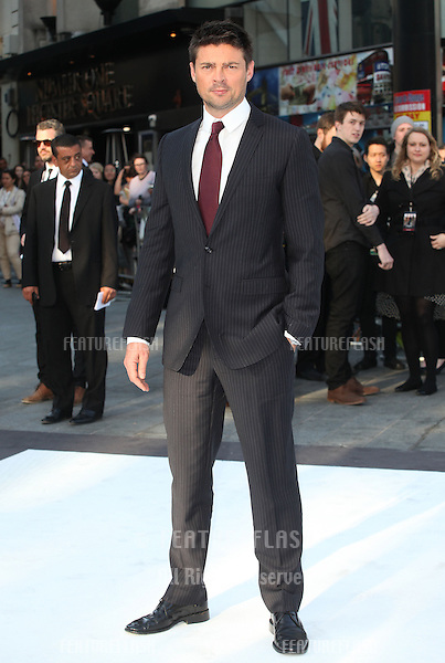 Karl Urban arriving for the UK premiere of 'Star Trek Into Darkness' at The Empire Cinema, London. 02/05/2013 Picture by: Alexandra Glen / Featureflash