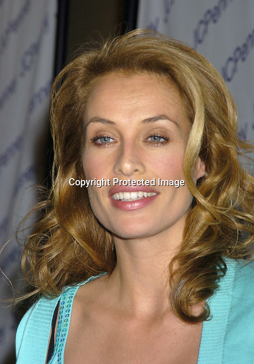 Frederique van der Wahl ..at the JC Penney Fashion Show of fashions called nicole by Nicole Miller on February 15, 2005 at The Four Seasons ..Restaurant.  JC Penney is sponsering the 77th Annual Academy Awards..Photo by Robin Platzer, Twin Images