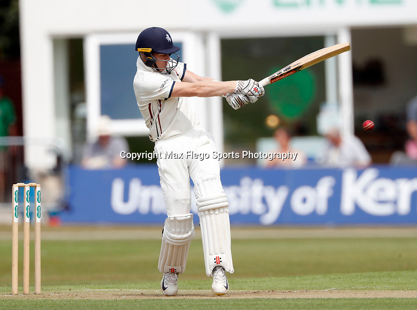 Sam Billings bats for Kent during the County Championship Division 2 game between Kent and Leicestershire at the St Lawrence ground, Canterbury, on Sun July 22, 2018