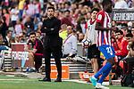 Coach Diego Simeone of Atletico de Madrid during the La Liga match between Atletico de Madrid vs Osasuna at Estadio Vicente Calderon on 15 April 2017 in Madrid, Spain. Photo by Diego Gonzalez Souto / Power Sport Images