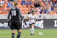 Houston, TX - Thursday Aug. 18, 2016: Estelle Johnson during a regular season National Women's Soccer League (NWSL) match between the Houston Dash and the Washington Spirit at BBVA Compass Stadium.