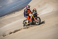 CHILECITO,ARGENTINA,17.JAN.18 - MOTORSPORTS, RALLY - Rally Dakar 2018,  stage 11, Belen - Fiambala - Chilecito. Image shows Toby Price (AUS/ KTM). Photo: Sport the library  / Red Bull Content Pool/ Marcelo Maragni - ATTENTION - FREE OF CHARGE FOR EDITORIAL USE