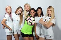 BERKELEY, CA - August, 7, 2016: Cal Women's soccer team photograph