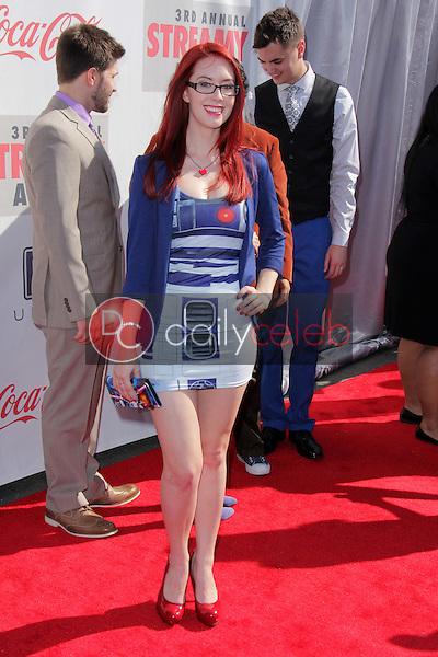 Meg Turney<br /> at the 3rd Annual Streamy Awards, Hollywood Palladium, Hollywood, CA 02-17-13<br /> David Edwards/DailyCeleb.com 818-249-4998