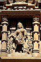 Lakshmana-Tempel (Vishnu) erb.930-50,  Khajuraho (Madhya Pradesh), Indien Lakshmana-Tempel (Vishnu) erb.930-50,  Khajuraho (Madhya Pradesh), Indien, UNESCO-Weltkulturerbe