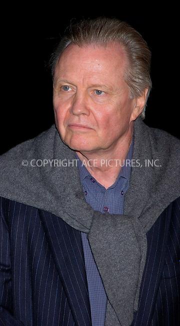 "WWW.ACEPIXS.COM . . . . .  ....NEW YORK, MAY 3, 2006....John Voight at the ""Mission Impossible III"" New York Premiere.....Please byline: AJ Sokalner - ACEPIXS.COM.... *** ***..Ace Pictures, Inc:  ..(212) 243-8787 or (646) 769 0430..e-mail: picturedesk@acepixs.com..web: http://www.acepixs.com"