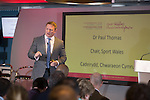 Sport Wales Conference 2016<br /> Principality Stadium<br /> 06.10.16<br /> Steve Pope &copy;Fotowales