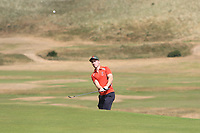 Shane O'Connor (Castlebar) on the 16th during Round 2 - Strokeplay of the North of Ireland Championship at Royal Portrush Golf Club, Portrush, Co. Antrim on Tuesday 10th July 2018.<br /> Picture:  Thos Caffrey / Golffile