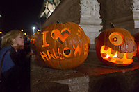 Halloween Festival in Budapest, Hungary on October 26, 2013. ATTILA VOLGYI