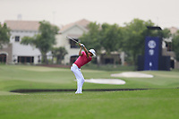 Ross Fisher (ENG) on the 14th fairway during the 3rd round of the DP World Tour Championship, Jumeirah Golf Estates, Dubai, United Arab Emirates. 17/11/2018<br /> Picture: Golffile | Fran Caffrey<br /> <br /> <br /> All photo usage must carry mandatory copyright credit (&copy; Golffile | Fran Caffrey)