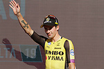 Primoz Roglic (SLO) Team Jumbo-Visma annihilates the field to win Stage 10 and is the new race leader Red Jersey of La Vuelta 2019 an individual time trial running 36.2km from Jurancon to Pau, France. 3rd September 2019.<br /> Picture: Colin Flockton | Cyclefile<br /> <br /> All photos usage must carry mandatory copyright credit (© Cyclefile | Colin Flockton)