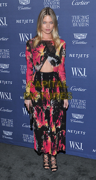 New York,NY-November 4: Martha Hunt attend the WSJ. Magazine 2015 Innovator Awards at the Museum of Modern Art on November 4, 2015 in New York City. <br /> CAP/MPI/STV<br /> &copy;STV/MPI/Capital Pictures
