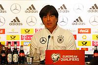 Bundestrainer Joachim Loew (Deutschland Germany) - 04.10.2017: Deutschland Pressekonferenz, Stormont Hotel Belfast
