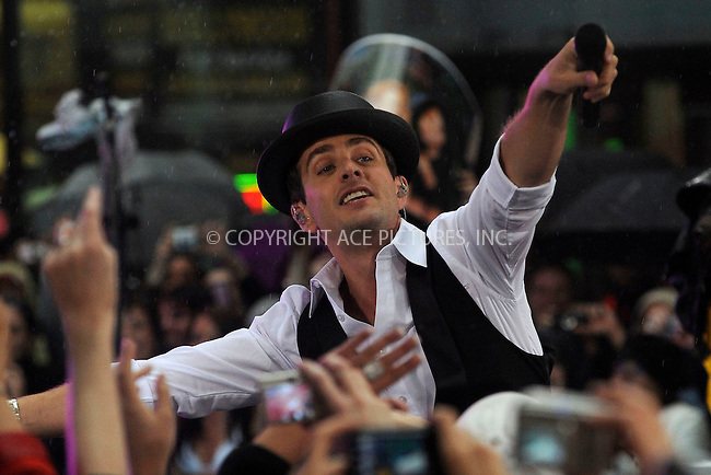 WWW.ACEPIXS.COM . . . . .....May 16, 2008. New York City,....Singer Joey McIntyre of the New Kids on the Block performs on the 'Today show in Rockefeller Plaza...  ....Please byline: Kristin Callahan - ACEPIXS.COM..... *** ***..Ace Pictures, Inc:  ..Philip Vaughan (646) 769 0430..e-mail: info@acepixs.com..web: http://www.acepixs.com