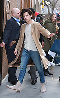 NEW YORK, NY - March 12: Cole Sprouse at The View promoting Five Feet Apart on March 12, 2019 in New York City. <br /> CAP/MPI/RW<br /> &copy;RW/MPI/Capital Pictures