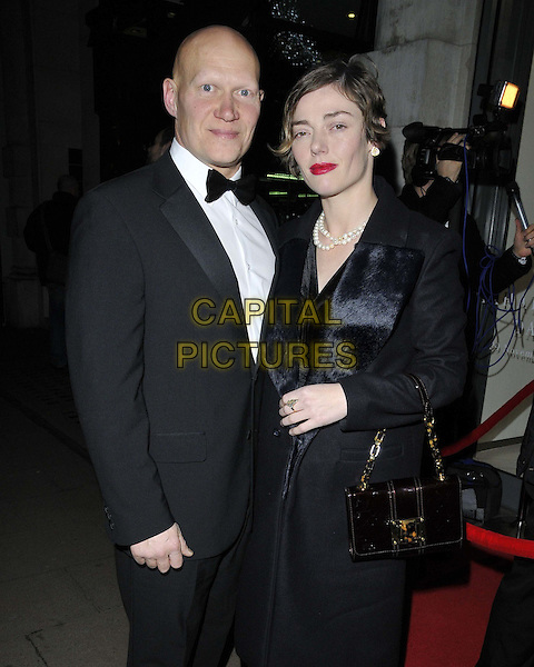 LONDON, ENGLAND - NOVEMBER 27: Rufus Abbott &amp; Camilla Rutherford attend the &quot;Mikhail Baryshnikov: Dancing Away&quot; photography collection private view, Contini Art UK, New Bond St., on Thursday November 27, 2014 in London, England, UK. <br /> CAP/CAN<br /> &copy;Can Nguyen/Capital Pictures