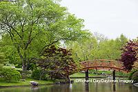 65021-03805 Japanese Garden in spring,  Missouri Botanical Garden, St Louis, MO