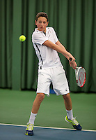March 13, 2015, Netherlands, Rotterdam, TC Victoria, NOJK, Jasper van Kleef (NED)<br /> Photo: Tennisimages/Henk Koster