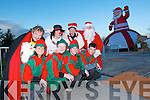 The crew at Santa's two acre village on the Hill in Abbeyfeale, where festive fun will continue until December 22nd.    Copyright Kerry's Eye 2008