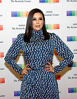 Actress Eva Longoria arrives for the formal Artist's Dinner honoring the recipients of the 40th Annual Kennedy Center Honors hosted by United States Secretary of State Rex Tillerson at the US Department of State in Washington, D.C. on Saturday, December 2, 2017. The 2017 honorees are: American dancer and choreographer Carmen de Lavallade; Cuban American singer-songwriter and actress Gloria Estefan; American hip hop artist and entertainment icon LL COOL J; American television writer and producer Norman Lear; and American musician and record producer Lionel Richie. Photo Credit: Ron Sachs/CNP/AdMedia