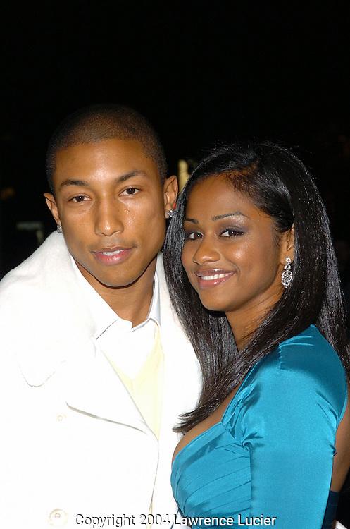 Pharrell Williams and Vashtie