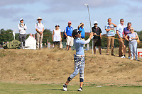Klara Spilkova (CZR) on the 2nd fairway during Round 3 of the Ricoh Women's British Open at Royal Lytham &amp; St. Annes on Saturday 4th August 2018.<br /> Picture:  Thos Caffrey / Golffile<br /> <br /> All photo usage must carry mandatory copyright credit (&copy; Golffile | Thos Caffrey)