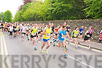 The athletes leave the start line for the Killarney Lions Club 10k road race on Sunday...................