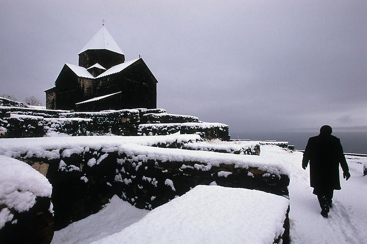 Sevanavank monastery, Armenia, February 2014
