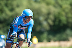 SITTARD, NETHERLANDS - AUGUST 16: Robert Hunter of South Africa riding for Garmin-Sharp competes during stage 5 of the Eneco Tour 2013, a 13km individual time trial from Sittard to Geleen, on August 16, 2013 in Sittard, Netherlands. (Photo by Dirk Markgraf/www.265-images.com)
