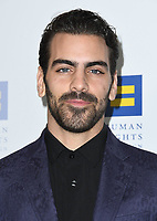 10 March 2018 - Los Angeles, California - Nyle DiMarco. The Human Rights Campaign 2018 Los Angeles Dinner held at JW Marriott LA Live.  <br /> CAP/ADM/BT<br /> &copy;BT/ADM/Capital Pictures