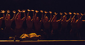 "The English National Ballet performs ""Lest We Forget"", a tribute to the centenary of the Great War at the Barbican with three new commissioned pieces by Akram Khan (Dust), Russell Maliphant (Second Breath), Liam Scarlett (No Man's Land) and a reworked ""Firebird"" by George Williamson."