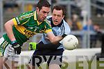 Kerry's Declan O'Sullivan and Dublin's Cian O'Sullivan.