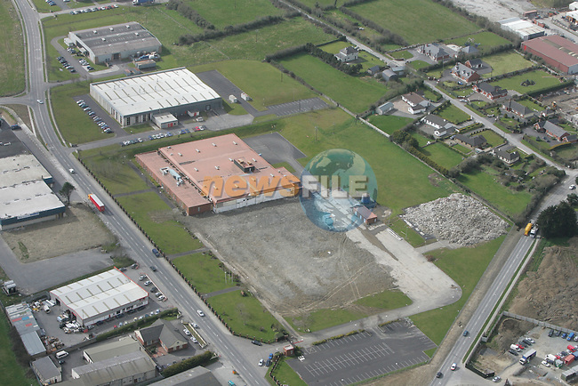 Aerial view of the Lidl Site on the Donore Rd., Drogheda...Photo NEWSFILE/Fran Caffrey.(Photo credit should read Fran Caffrey/NEWSFILE)....This Picture has been sent you under the condtions enclosed by:.Newsfile Ltd..The Studio,.Millmount Abbey,.Drogheda,.Co Meath..Ireland..Tel: +353(0)41-9871240.Fax: +353(0)41-9871260.GSM: +353(0)86-2500958.email: pictures@newsfile.ie.www.newsfile.ie.FTP: 193.120.102.198...This picture is from Fran Caffrey@newsfile.ie