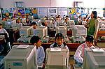 Escola de primeiro grau em Seul. Coréia do Sul. 1999. Foto de Ricardo Azoury.