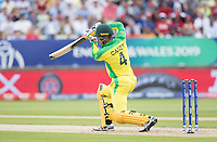 Alex Carey (Australia) with a glorious cover drive for four runs during Australia vs England, ICC World Cup Semi-Final Cricket at Edgbaston Stadium on 11th July 2019
