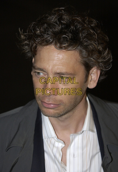 "DEXTER FLETCHER.""Layer Cake"" world film premiere at.Electric Cinema, Portabello Road, Notting Hill.London 23 September 2004..portrait headshot.Ref: PL.www.capitalpictures.com.sales@capitalpictures.com.©Capital Pictures."