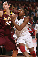 STANFORD, CA - JANUARY 28:  Nnemkadi Ogwumike of the Stanford Cardinal during Stanford's 71-48 win over ASU on January 28, 2010 at Maples Pavilion in Stanford, California.