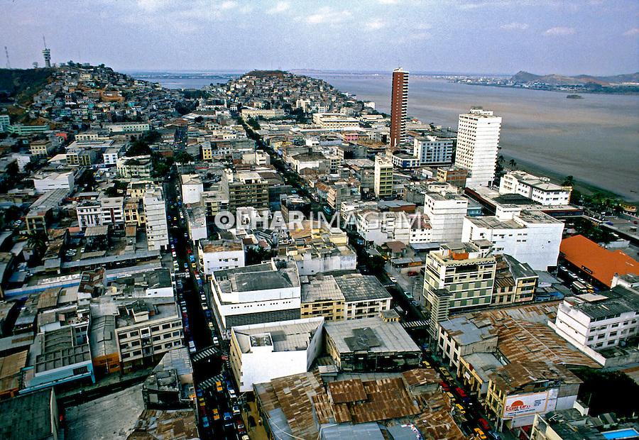Cidade de Guayaquil. Equador. Foto de Juca Martins. Data: 1987.
