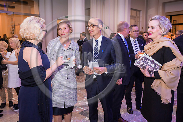 BRUSSELS - BELGIUM - 27 September 2017 -- Finland 100th Anniversary Reception and Concert of the Philharmonia Orchestra of London at the BOZAR. -- MEP Miapetra KUMPULA-NATRI, Meri Löyttyniemi, Senior Advisor at Milton Brussels. -- PHOTO: Juha ROININEN / EUP-IMAGES