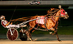 JUNE 27, 2019 : Rollwithpapajoe, driven by Joe Bongiorno, wins Division #2 of the $167,500 Armand Palatucci Pace, New York Sire Stakes for 3 year olds, at Yonkers Raceway, on June 27, 2019 in Yonkers, NY.  Sue Kawczynski_ESW_CSM