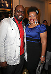 J. Bernard Calloway, Carmen Ruby Floyd.attending the Broadway Opening Night Performance of.'Gore Vidal's The Best Man' at the Gerald Schoenfeld Theatre in New York City on 4/1/2012