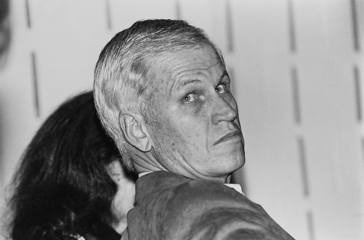 Rep. Charles Stenholm, D-Tex., during panel discussion on secuiring prosperity at the Democratic Issues Conference on Jan. 30, 1992. (Photo by Maureen Keating/CQ Roll Call)