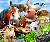 Howard, REALISTIC ANIMALS, REALISTISCHE TIERE, ANIMALES REALISTICOS, paintings+++++,GBHR925,#a#, EVERYDAY ,selfies