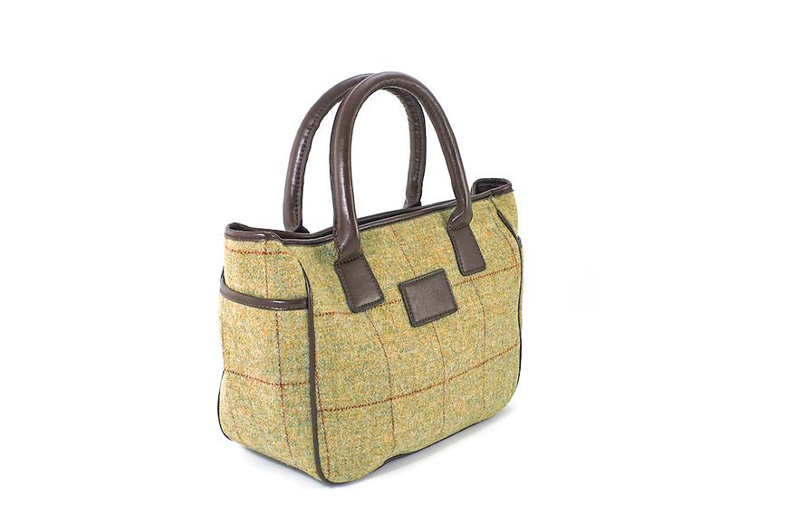 Studio Packshot of the Allegra British Ladies Tweed Tote Bag