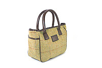 Studio Packshot of the Allegra British Ladies Tweed Tote Bag