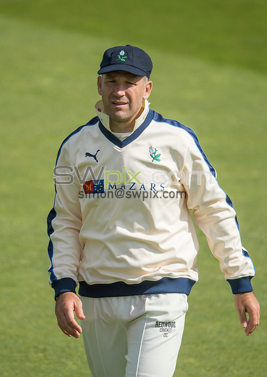 Picture by Allan McKenzie/SWpix.com - 26/04/2015 - Cricket - LV County Championship Div One - Yorkshire County Cricket Club v Warwickshire County Cricket Club - Headingley Cricket Ground, Leeds, England - Yorkshire's James Middlebrook.