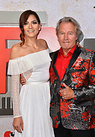 LOS ANGELES, CA. October 24, 2018: Blanca Blanco &amp; John Savage at the Los Angeles premiere for &quot;Suspiria&quot; at the Cinerama Dome.<br /> Picture: Paul Smith/Featureflash